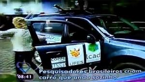 Ana Maria Braga prestes a ser atingida