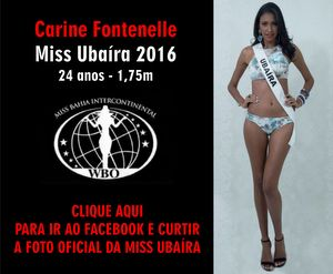 Miss Bahia Intercontinental 2016