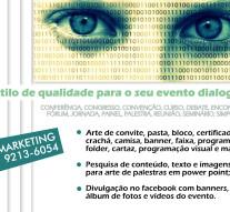Estilo de qualidade para eventos dialogais: V Marketing, de Valdiki Moura.