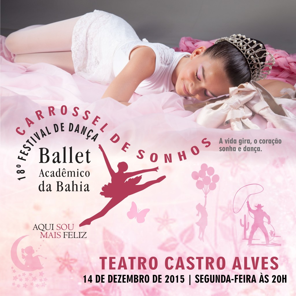 TCA Carrossel de Sonhos Ballet Academico da Bahia Dezembro 2015 - foto Erivan Morais